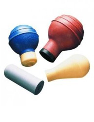 Slika za pipetting aids,rubber,grey,upto 2 ml