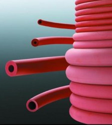 Slika za rubber tube 5x2mm red