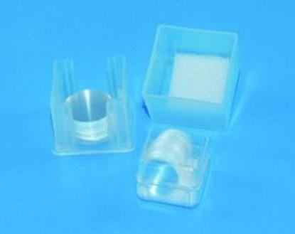 Slika za cover slips, round, pure white 0,13-0,16