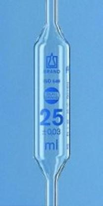 Slika za volumetric pipet 25 ml, with 2 marks