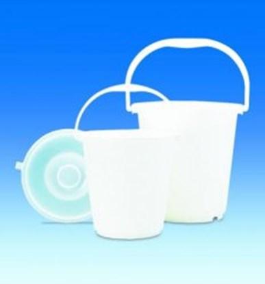 Slika za buckets,pe-ld,graduated,with handle,cap.