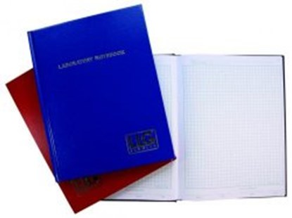Slika za llg-lab notebook, a4 100 pages