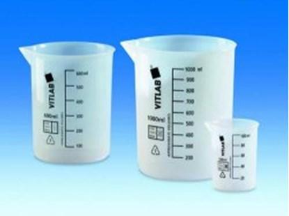 Slika za beakers, 500 ml, etfe, low form