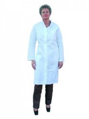 Slika za ladies' laboratory coats,100% cotton,siz