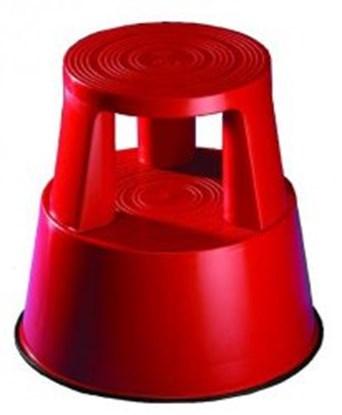Slika za plastic roller steps step, red