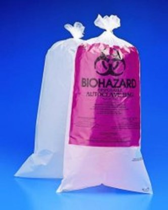 Slika za vrećice za autoklav, 30x61 cm, pak/100