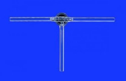Slika za stopcocks, three way with ptfe plug, ns
