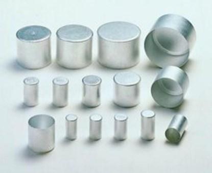 Slika za alu caps,aluminium,17 x 30 mm high,pack