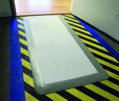 Slika za clean room mats sticky mat white + frame
