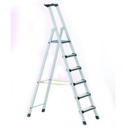 Slika za stepladder, 6 steps, safety platform
